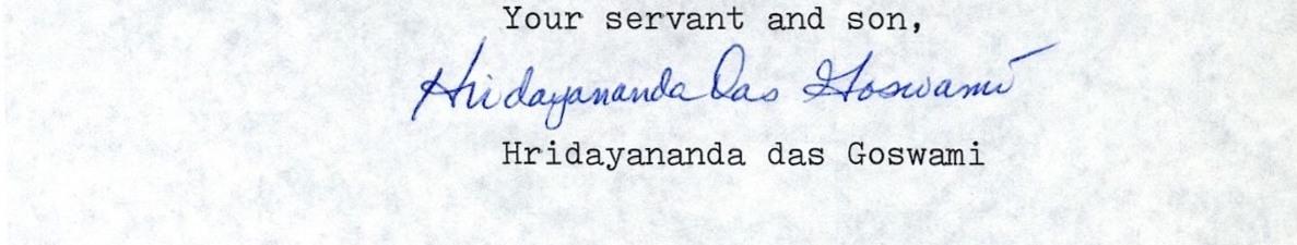 HDG signature
